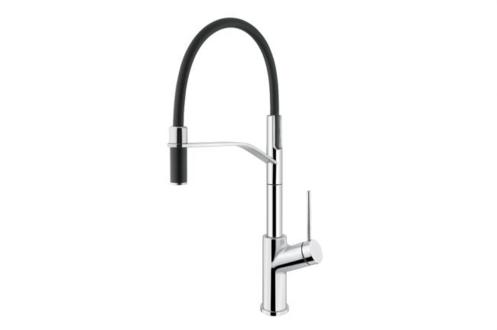 ibathtile.com Aquabrass - 6345N Ginger Pro Pull-Out Spray Kitchen Faucet